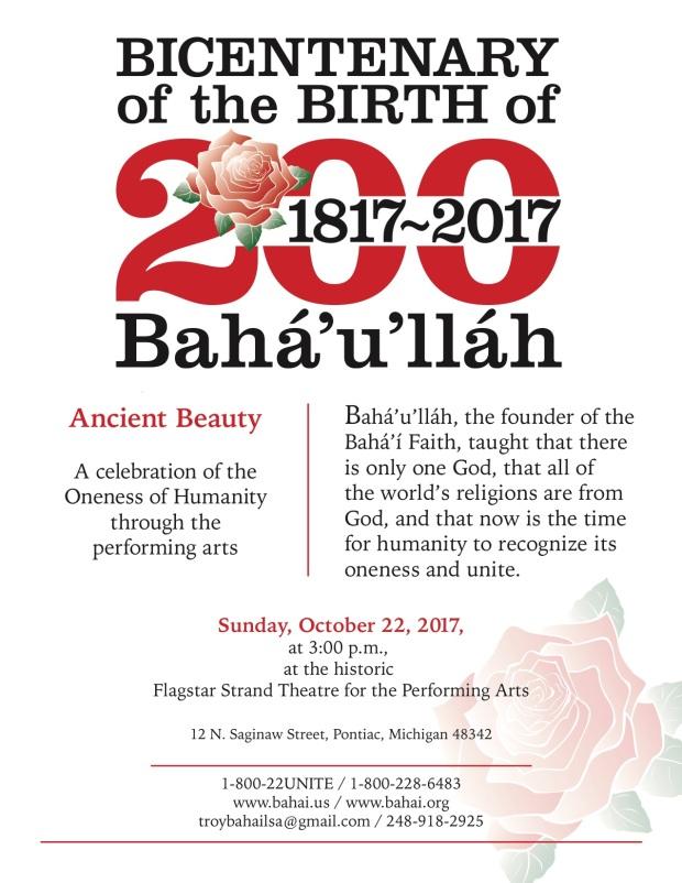 Baha'i Flyer Color