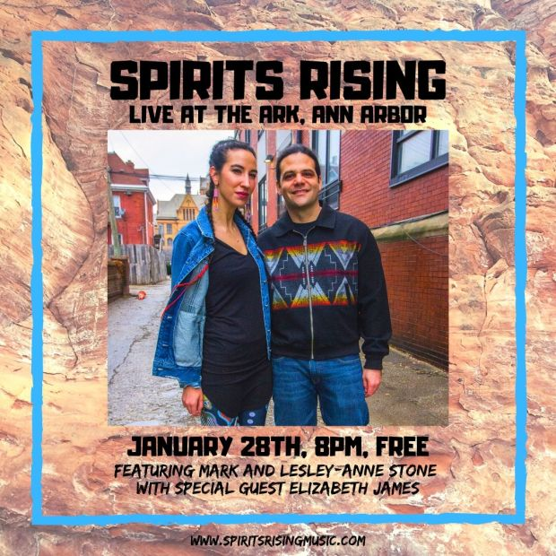 Spirits Rising at The Ark Jan. 28th 2020